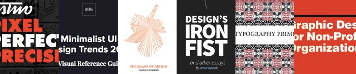 5 + 1 free design books to improve your creativity