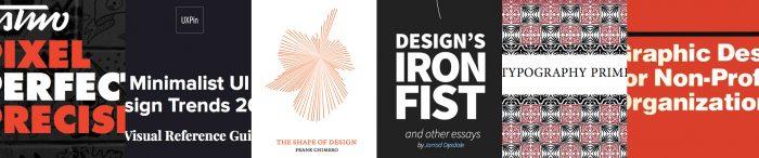 5 + 1 free design books to improve your creativity